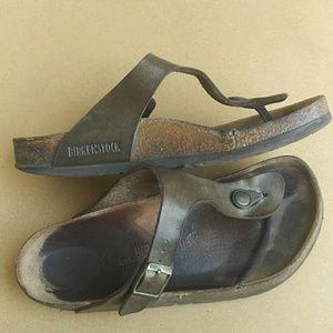 Birkenstock T-strap Slip-on Sandals